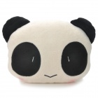 Cute Panda Style Car Sofa Cushion Head Neck Pillow - White + Black