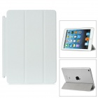 Klapp-Design Protective Fibre Smart Cover für iPad Mini - White