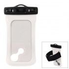 iP-005 Waterproof Bag Pouch w/ Armband / Strap for Iphone 5 - White