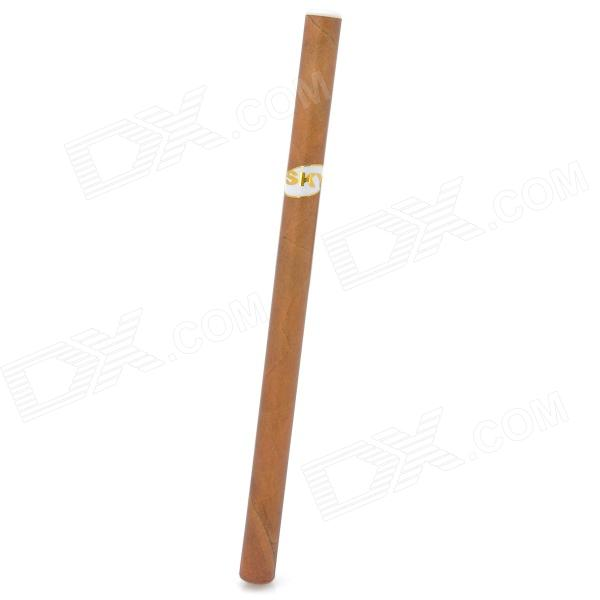 sky20121123-16 Quit Smoking Disposable Lady's Electronic Cigar Cigarette - Brown (Apple Flavor)