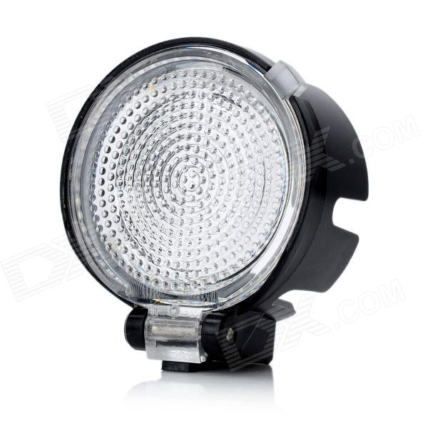 Outdoor Flashlight Head Light Diffuser - Black + Transparent