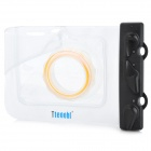 Tteoobl GQ-318 20-Meter Outdoors Diving Waterproof Case for Camera w/ Neck Strap - Transparent