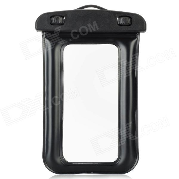 Universal protecção PVC impermeável + ABS Air Bag Dunnage com alça para Iphone 5 / MP4 - Preto