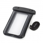 Universal Protective Waterproof PVC + ABS Air Dunnage Bag with Strap for Iphone 5 / MP4 - Black