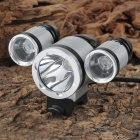 SingFire SF-530 3 x Cree XM-L T6 2730lm 4-Mode White Bicycle Lamp - Silver + Black (4 x 18650)