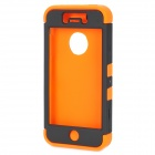 Detachable Protective Full Body Case for Iphone 5 - Orange + Black
