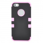 Detachable Protective Full Body Case for Iphone 5 - Pink + Black