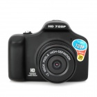 "Q8 Mini Handheld 1.5""TFT 1.0 MP CMOS Wide Angle Car DVR Camcorder w/ TF / AV-OUT - Black"