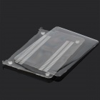 "Protective PC Frente & Verso Case para Apple MacBook Air de 11,6 ""Laptop - Transparente"