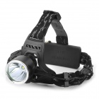 Cree XM-L T6 580lm 3-Mode Cool White Light Headlamp - Black (1 x 18650 / 2 x 18650)