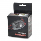 348lm 3-Mode Cool White Light Headlamp - Black (3*AAA)