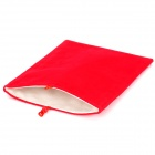 "Protective 8"" Tablet Inner Bag Sleeve - Red"