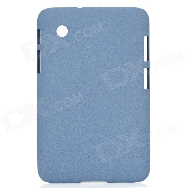 Quicksand Style Protective PC Hard Back Case Cover for Samsung Galaxy Tab P3100 / P3110 - Blue