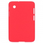 Quicksand Style Protective PC Hard Back Case Cover for Samsung Galaxy Tab P3100 / P3110 - Red