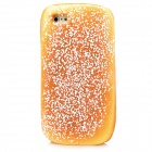 Desiccated Coconut Bread Style Protective Sponge Back Case for Iphone 5 - Brown Yellow