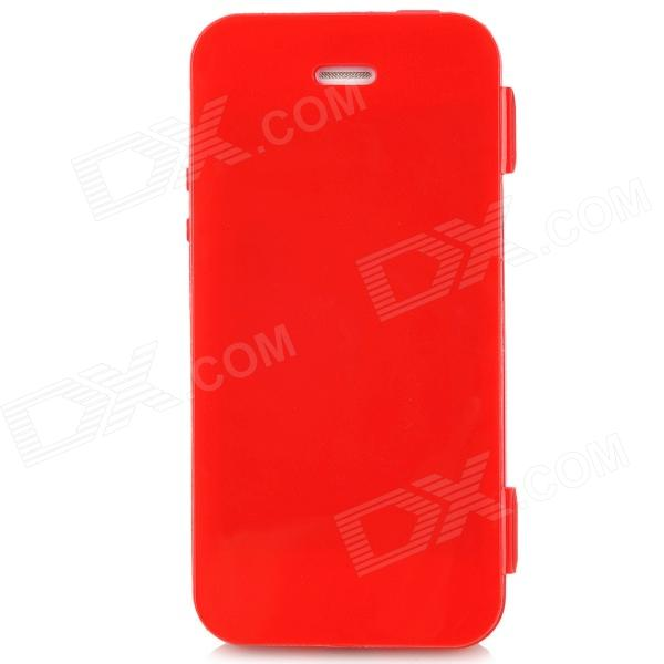 Protective Plastic Case for iPhone 5 - Red