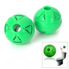 Ball Shaped Water Tank Toilet Deodorization Cleaner - Green (2 PCS)