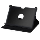 360-Degree Rotation Protective PU Leather Case for Samsung Galaxy Tab 2 P5100 - Black