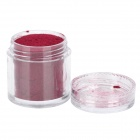 BK -24 DIY Decoration Nail Powder for Nail Polish - Dark Red