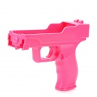 Plastic Motion Plus Function Laser Gun for Wii Remote - Peach