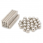 YSDX-646 27 Neocube / Buckyballs / Magnet balls + 36 Magnets Stripes Set - Silver