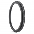 New-View Ultra-Slim Digital Camera UV Filter - Black (49mm)