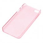 BASEUS Ultra Slim Protective Case for Iphone 5 - Transparent Pink