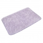 BaiYiShangPin R9G40X60 Machine Washable Ultrafine Fiber Floor Mat - Light Purple