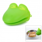M-FUN MEL0285 Frog Style Silicone Heat Resistant Anti-Slip Kitchen Cooking Glove - Green