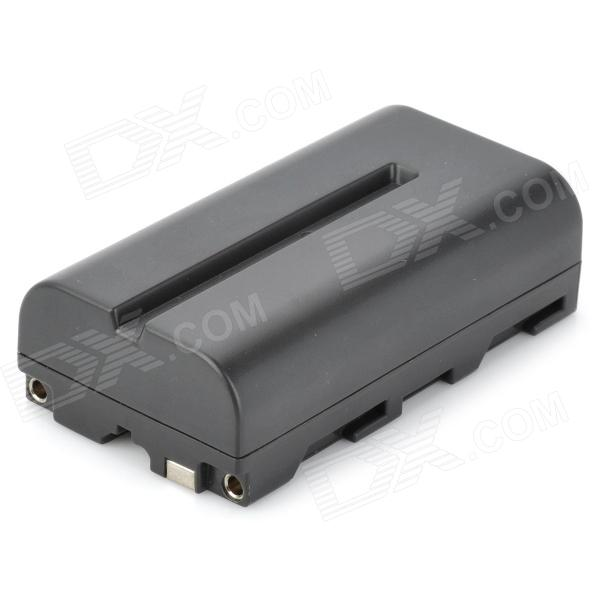 цена на New-View NP-F550/F570 Replacement 7.4V 2200mAh Rechargeable Li-ion Battery for Sony DSLR - Black