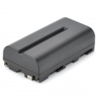 "New-View NP-F550/F570 Replacement 7.4V ""2200mAh"" Rechargeable Li-ion Battery for Sony DSLR - Black"