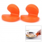 M-FUN MEL0300 Mini Hand Hold Heat Insulation Pad - Orange (2 PCS)