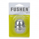 FUSHEN FEL0197 Stainless Steel Spices Condiments Storage Case w/ Holes - Silver (3 PCS)