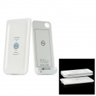 1680mAh Wireless Power Adapter Charger for iPhone 4 / 4S - White (DC 5V)