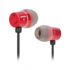 apolok AP-CR099-1 Stylish Hi-Fi Stereo In-Ear Earphones - Red (3.5mm Plug / 120cm)
