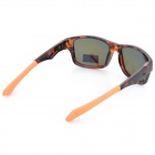 Oreka 9135-04 UV400 Protección Film Coating Len gafas de sol polarizadas - Brown