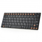 Portable Bluetooth v3.0 80-Key Keyboard for Iphone 5 / Ipad - Black + Blue