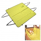 Travel Pet Dog Cat Car Seat Cover Hammock Carpet Mat - Green