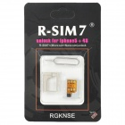 Universal R-SIM 7 Unlock for Iphone 4S / Iphone 5 - Golden + Silver