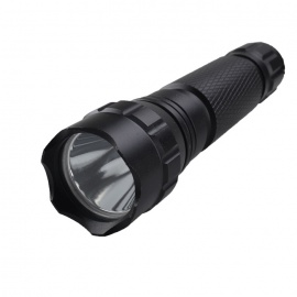 WF-501B 800lm 2-Mode White Flashlight - Black (1 * 18650)