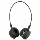 Wireless Bluetooth v2.1 Stereo Headset Headphones w/ 2-Flat-Pin Plug + USB - Black
