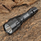AtataFire AT-206 Cree XM-L U2 975lm 3-Mode White Flashlight - Black (1 x 18650)