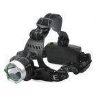 YP-3012 Cree XM-L T6 580lm 3-Mode White Light Scheinwerfer - Black + Silver (2 x 18650)