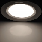 INHIDA IHD-X07A006W 7W 600lm 6500K White Light LED Lamp - Silver +White (110~240V)