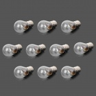 POLI 1157 21 + 5W 120lm 3000K Warm White Light Halogen Car Brake Light - Silver (DC 12V / 10 PCS)