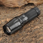 UltraFire W878 Cree XM-L T6 800lm 5-Mode White Light Zooming Flashlight - Black (1 x 18650)
