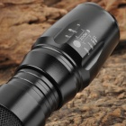 UltraFire W878 800lm 5-Mode White Light Zooming Flashlight - Black (1 x 18650)