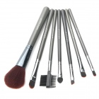 MEGAGA 115-1# Professional Cosmetic Makeup 7-in-1 Brushes Set - Black