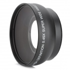 52mm 0.45X Wide Angle + Macro Conversion Lens - Black
