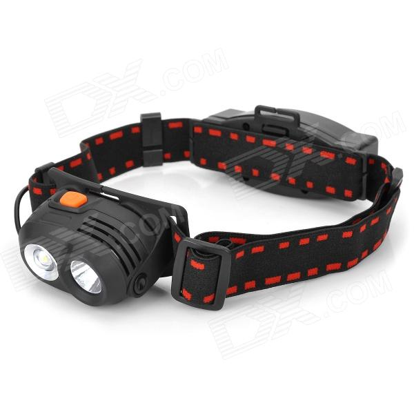 067 LED 348lm 5-Mode White Headlamp - Black (1 x 18650)